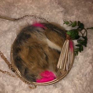 Fluffy Handbag